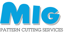 Logo, MIG Pattern Cutting Services Ltd. - Pattern Grading